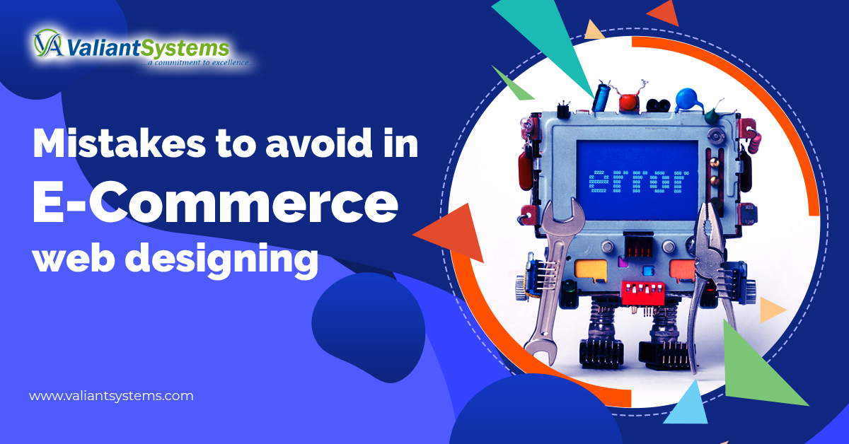 Mistakes to avoid in E-commerce web designing