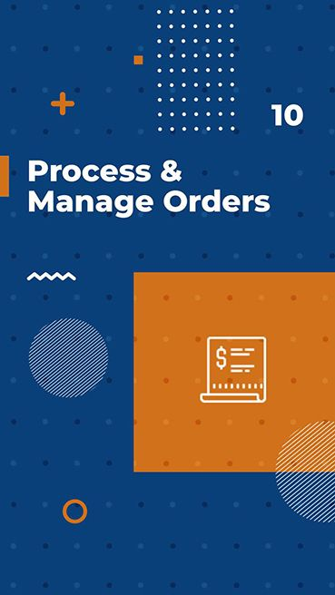 Process and Manage Orders