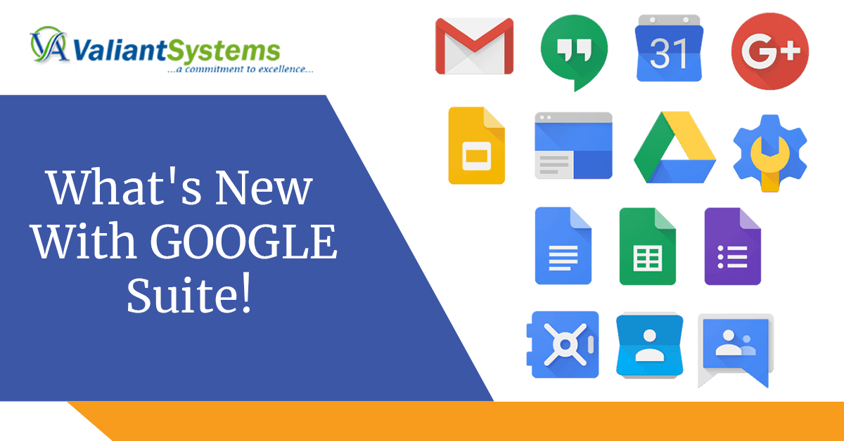 What's New With GOOGLE Suite!